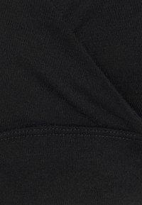 Lindex - BRA NURSING WRAP - Triangle bra - black - 2