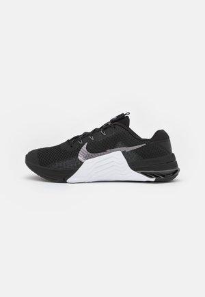 METCON 7 - Zapatillas de entrenamiento - black/metallic dark grey/white/smoke grey