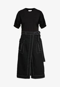 3.1 Phillip Lim - TOPSTITCH - Day dress - black - 5