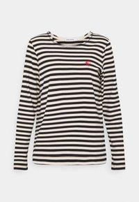 Carin Wester - NEVADA  - Bluzka z długim rękawem - black/white - 4