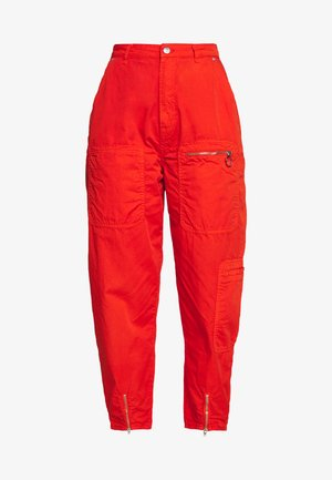 DUA LIPA x PEPE JEANS - Bukse - bright orange