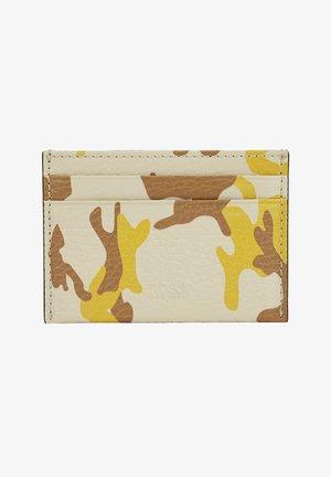 Business card holder - light beige