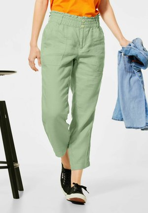 LOOSE FIT  - Relaxed fit jeans - grün