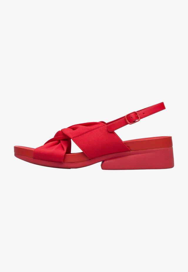 MINIKAAH - Sandały - rot