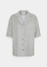 HENNA TOWEL SHIRT - Button-down blouse - grey