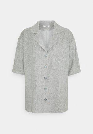 HENNA TOWEL SHIRT - Košile - grey