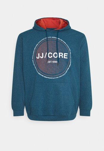 JCOFIRES HOOD  - Sweatshirt - sailor blue melange