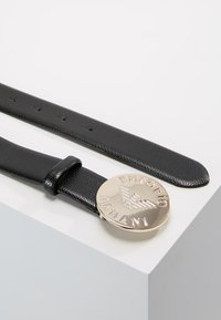 Emporio Armani - MINI DOLLARO CIRCLE BUCKLE - Belt - nero - 2