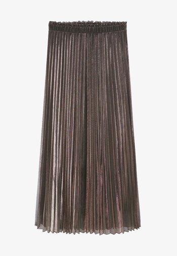 MOSQUETA-A - Plisovaná sukně - kupfer