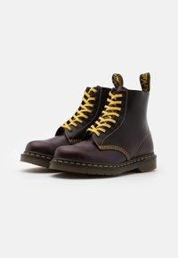Dr. Martens - 1460 PASCAL UNISEX - Lace-up ankle boots - oxblood - 1