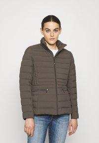 Lauren Ralph Lauren - INSULATED - Down jacket - mottled dark grey - 0