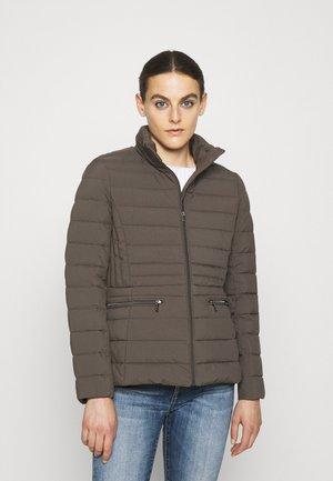 INSULATED - Down jacket - mottled dark grey