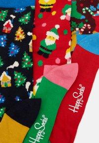 Happy Socks - HOLIDAY SOCKS GIFT SET 3 PACK - Strumpor - multi - 2