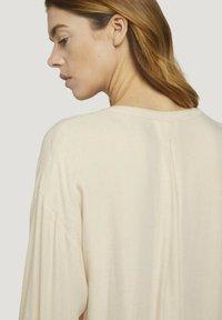 TOM TAILOR DENIM - Blouse - cozy beige melange - 3