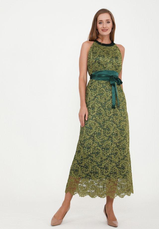 FUSIA - Vestito lungo - olive