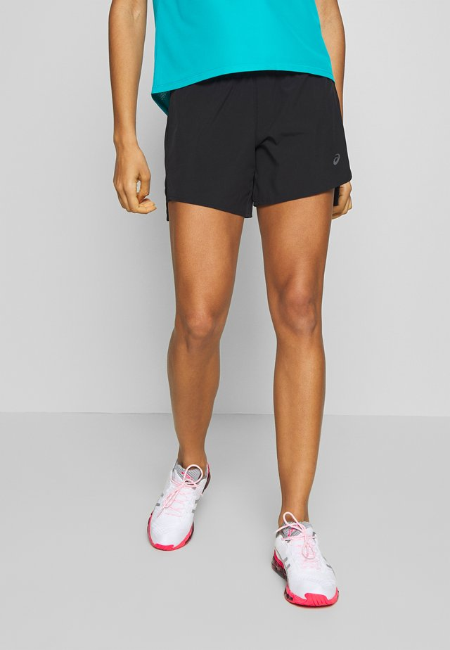 ROAD SHORT - Pantaloncini sportivi - performance black
