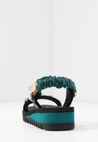 Kurt Geiger London - ORION - Wedge sandals - multicolor - 5