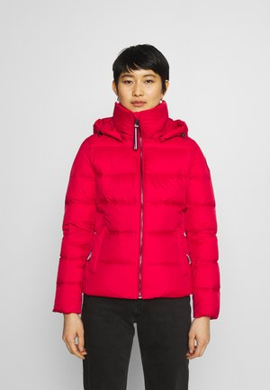 GLOBAL STRIPE - Daunenjacke - primary red