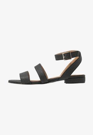 GATRIA - Sandaalit nilkkaremmillä - black