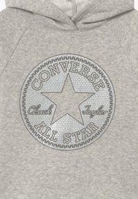 Converse - FAUX SEQUIN HOODIE - Sweat à capuche - lunar rock - 2