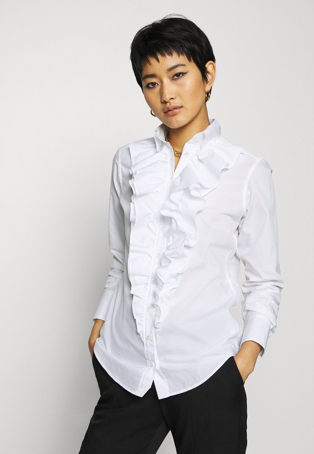 MONICA - Button-down blouse - weiß