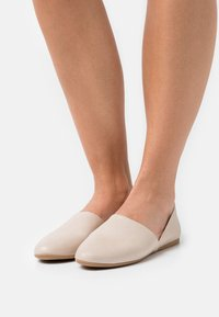 Anna Field - LEATHER - Nazouvací boty - beige - 0