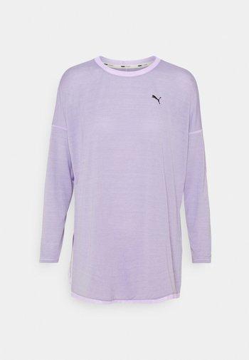 STUDIO GRAPHENE LONG SLEEVE - Camiseta de manga larga - light lavender