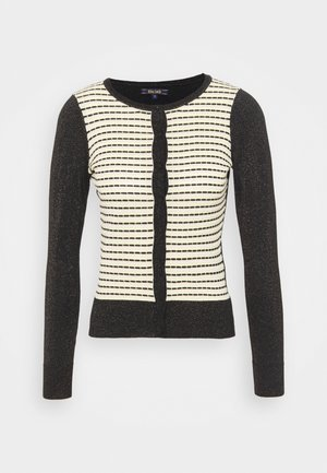 CARDI ROUNDNECK INGLEWOOD - Cardigan - black