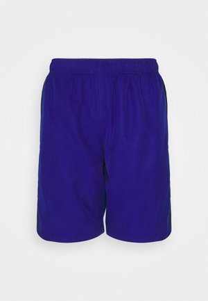TENNIS SHORT BLOCK - Pantaloncini sportivi - bleu/bleu marine/blanc