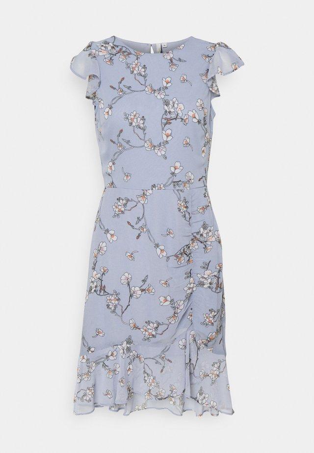 RUCHED FLOUNCE DRESS - Robe de soirée - multi-coloured