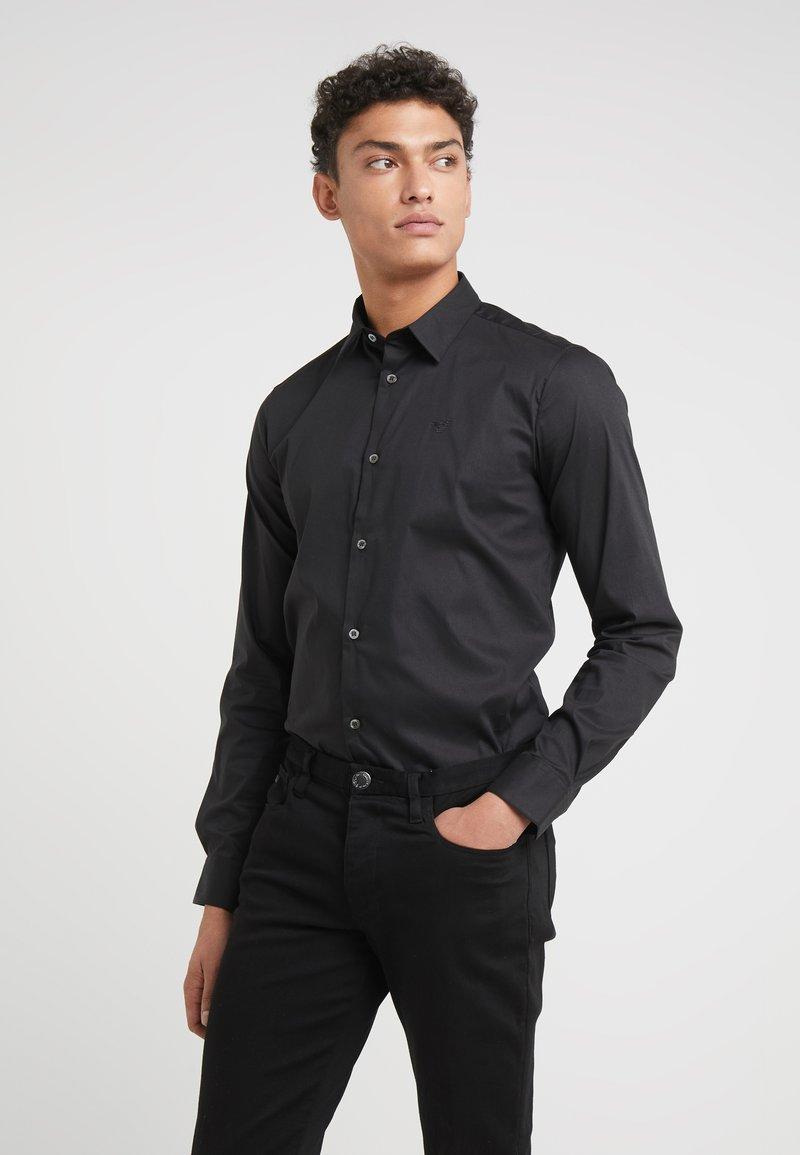 Emporio Armani - Formal shirt - black