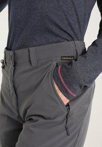Jack Wolfskin - ACTIVATE LIGHT PANTS WOMEN - Kalhoty - dark iron - 3