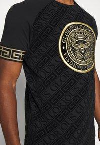 Glorious Gangsta - LANZO  - T-shirt con stampa - black - 5