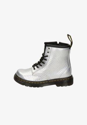 Veterboots - zilver