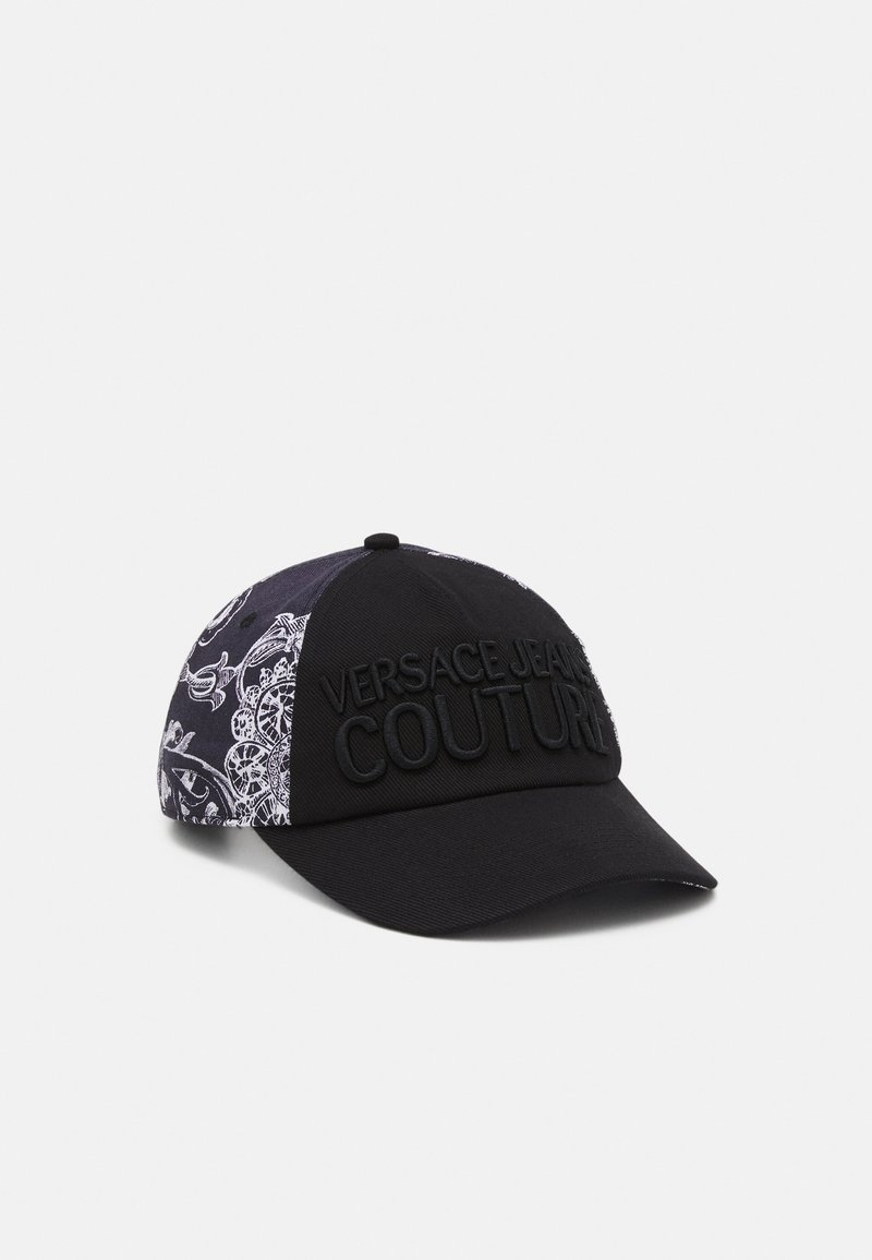 Versace Jeans Couture - BASEBALL WITH PENCES UNISEX - Kšiltovka - nero
