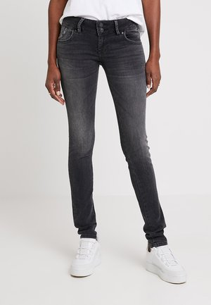 MOLLY - Slim fit jeans - dark-blue denim
