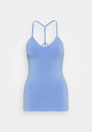 MINDFUL SEAMLESS YOGA VEST  - Top - cornflower blue