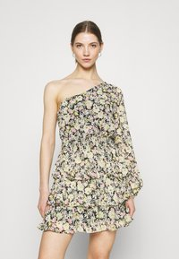 Gina Tricot - EXCLUSIVE MERIDIANDRESS - Cocktail dress / Party dress - black/multi-coloured - 0