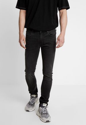 LUKE - Jeansy Slim Fit - moto grey