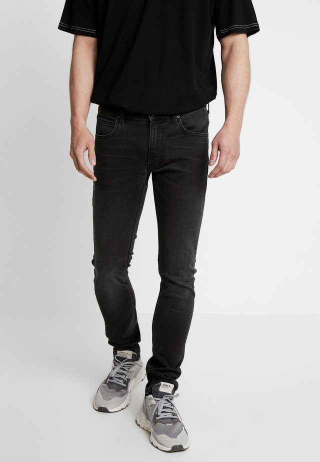 LUKE - Slim fit jeans - moto grey