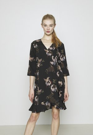 VMHENNA WRAP DRESS - Vardagsklänning - black