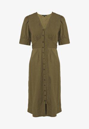VMKASSANDRA KNEE DRESS - Skjortekjole - ivy green