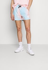 11 DEGREES - SUNBURST SUBLIMATION  - Shorts - powder blue/peach blush - 0