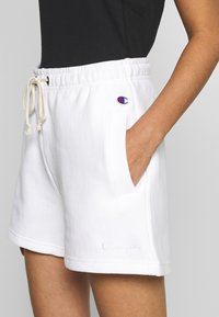 Champion Reverse Weave - Tracksuit bottoms - white - 4