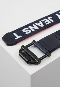 Tommy Jeans - ROLLER WEBBING BELT  - Belt - blue - 2