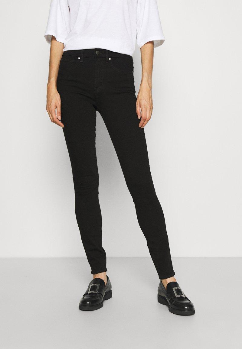 Gap Tall - SKINNY EVER DARK - Jeans Skinny Fit - absolute black