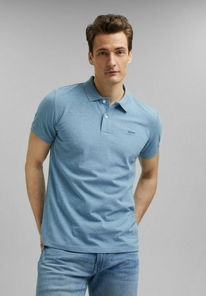 Polo shirt - new teal blue