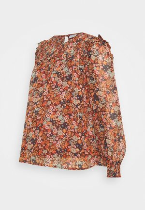 PCMBENTE - Blouse - burnt orche
