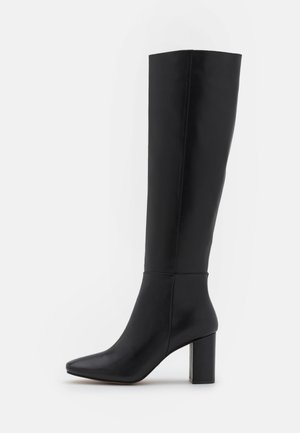 KNEE HIGH BOOTS - Boots - black