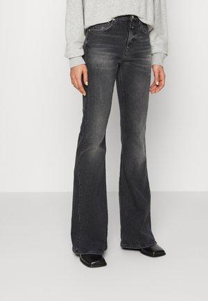 RAWLIN - Flared Jeans - dark grey